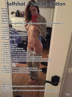 Selfshot - Female edition