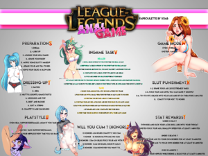 League of Legends Anal Game
