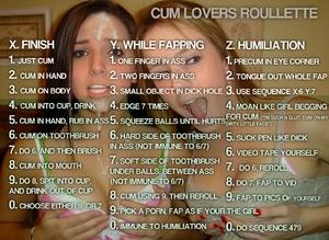 cum lovers Roullette