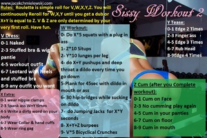 Sissy workout 2