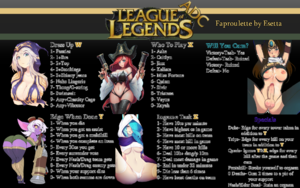 League of Legends ADC Faproulette