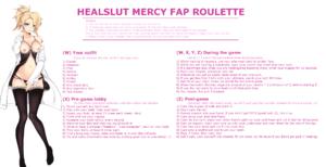Healslut Mercy Fap Roulette