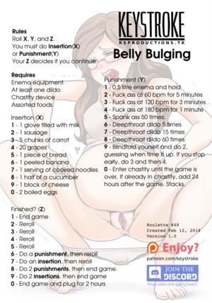 Belly Bulging