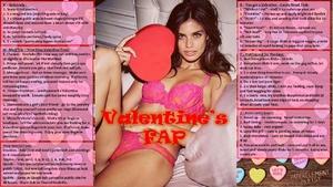 Valentine Day Special Sissy FAP tasks