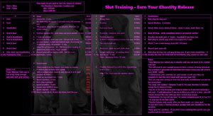 Slut Training - Earn Your Chastity Release