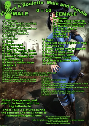 Fallout 4 Male and Female Roulette