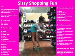 Sissy Shopping Fun