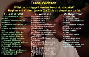 Tease Wichsen