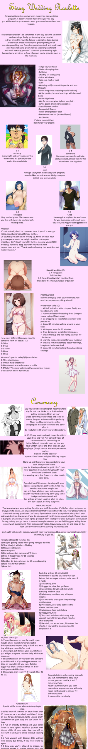 Sissy Wedding Roulette