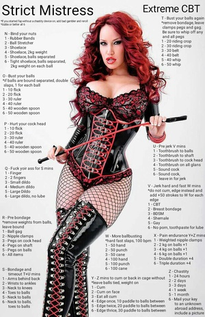 Strict Mistress Extreme CBT
