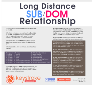 Long Distance Sub Dom Relationship