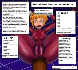 Brutal Anal Destruction Roulette