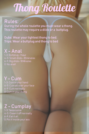Thong Roulette