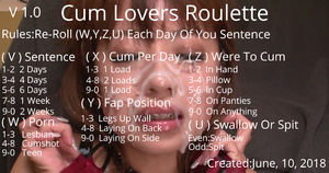 Cum Lovers Roulette (Easy)