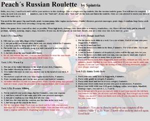 Peach´s Russian Roulette