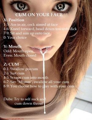 cum on your face facial cum lovers