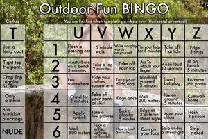 Outdoor Flash Bingo
