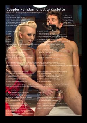 Couples FemdomChastity Roulette