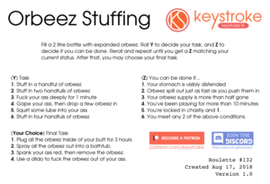 Orbeez Stuffing