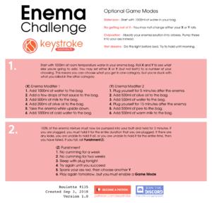 Enema Challenge
