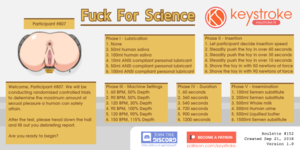 Fucked for Science