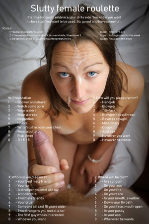 Female slut roulette
