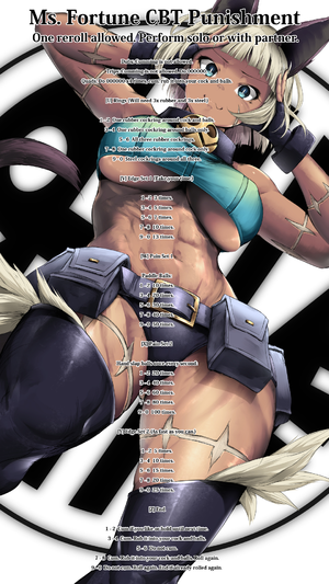 Ms. Fortune CBT Punishment
