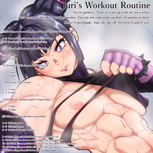 Juri's Workout Routine
