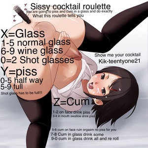 Sissy cocktail roulette