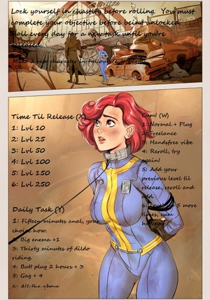 Fallout 76 Leveling Chastity Challenge