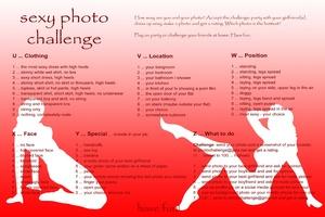 sexy photo challenge