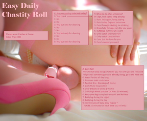 Easy Daily Chastity Roll