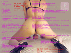 Horny Sissy Roulette