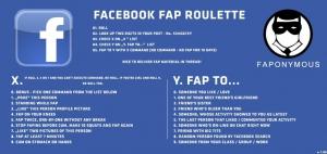 facebook fap roulette fb friends social