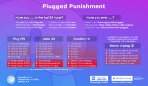 Plugged Punishment