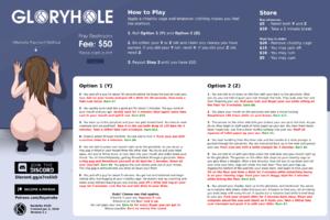 Gloryhole - Pay Restroom