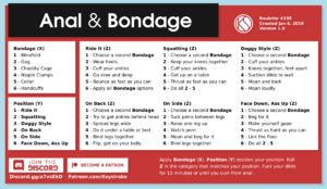 Anal and Bondage