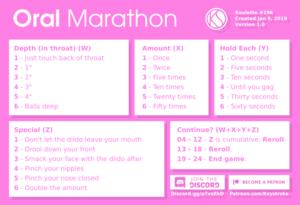 Oral Marathon
