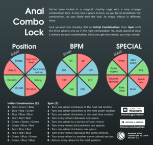 Anal Combo Lock