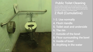Public Toilet Cleaning