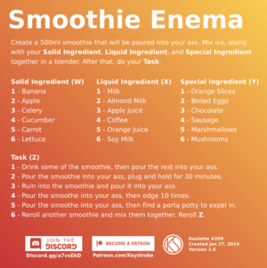 Smoothie Enema