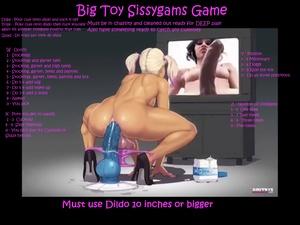 Big Toy Sissygasm Game
