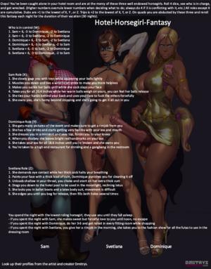 Hotel Horsegirl Fantasy