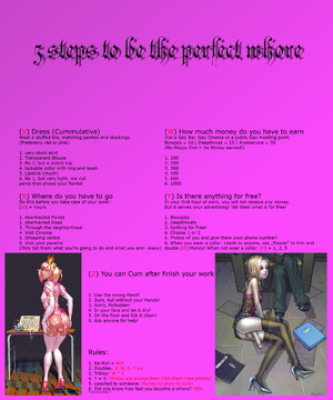 5 steps to be the perfect whore