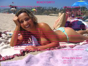 Beach Day Dares