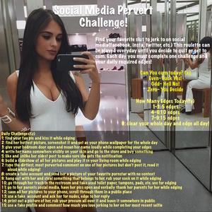 Social Media Perv Challenge