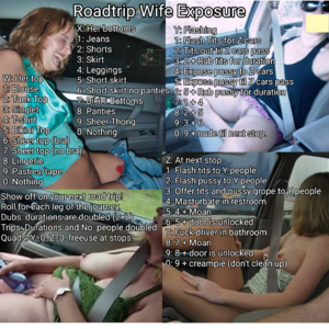 Roadtrip Wife Exposure