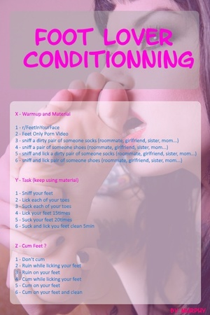 Feet Lover Conditionning