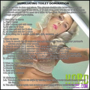 Domination and Humiliation Hard Scat
