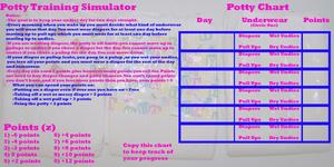 Potty Training Simulator